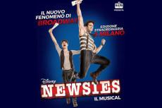 NEWSIES IL MUSICAL. IL NUOVO FENOMENO BROADWAY DELLA DISNEY ARRIVA ANCHE IN ITALIA.