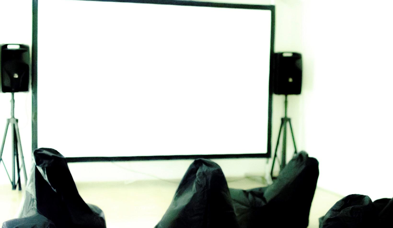 sala cinematografica ridotta