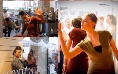 danza in vetrina