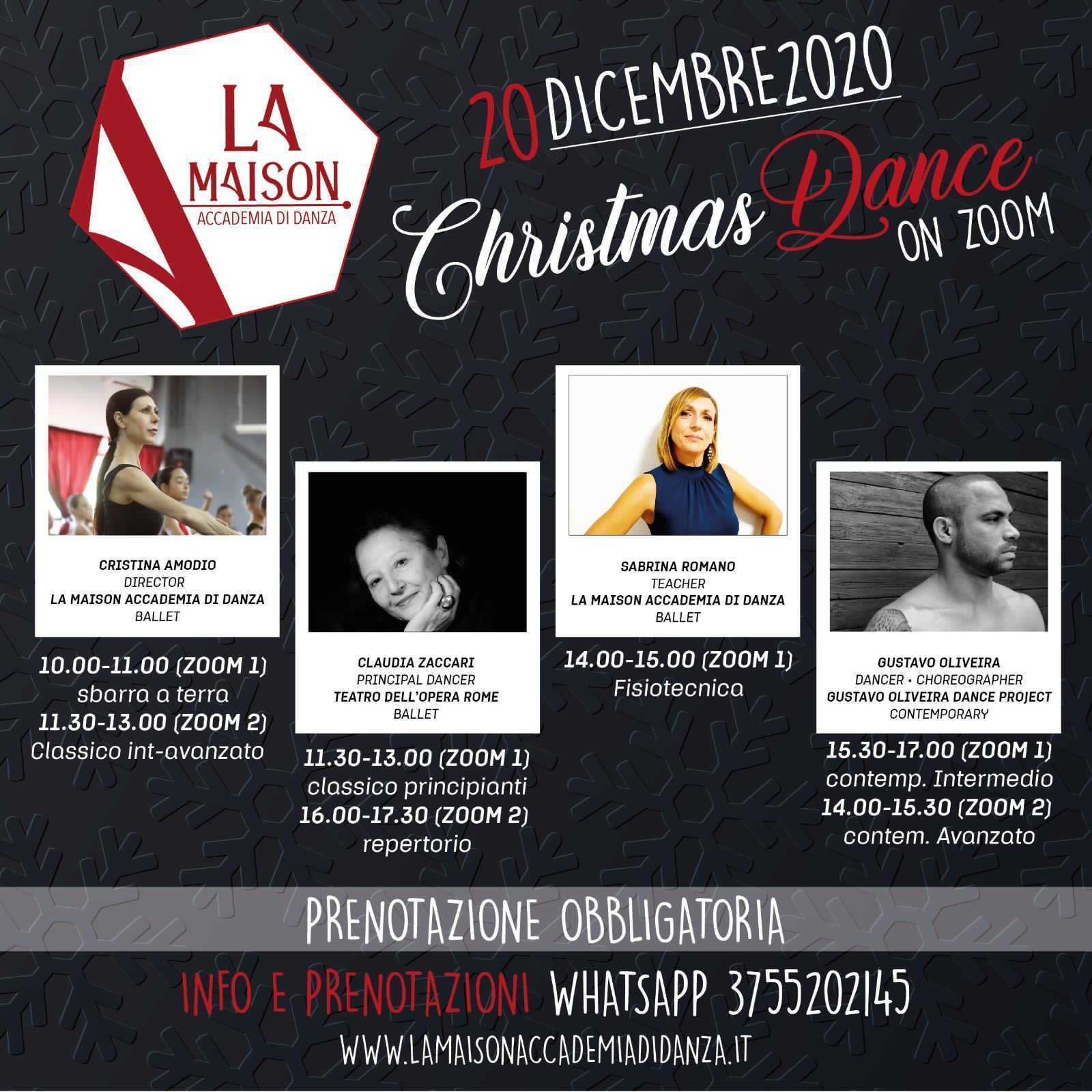 CHRISTMAS DANCE LA MAISON ACCADEMIA DI DANZA DI ROMA